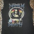 Napalm Death original shirt US Grind Crusher Tour 1991