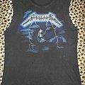 Metallica old 80's Ride The Lightning shirt