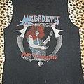 Megadeth original 80's Rattlehead shirt