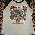 Megadeth original baseball shirt Killing For A Living Tour 1985