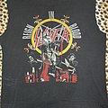 Slayer original 80's Reign In Blood shirt