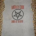 Motley Crue original 80's Shout At The Devil shirt
