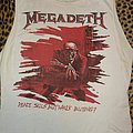 Megadeth old Peace Sells -shirt from 1987