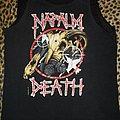 Napalm Death muscle shirt US Tour 1991