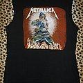 Metallica original 80's muscle shirt