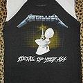 Metallica 80's sleeveless Metal Up Your Ass baseball shirt