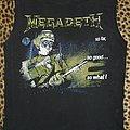 Megadeth 80's So Far So Good... So What! shirt