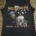 Megadeth original 80's Killing Is My Business shirt