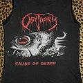 Obituary original shirt North American Tour 1990