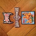 Master, Bolt Thrower and Hirax patch
