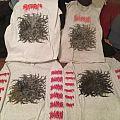 """Spectral Voice/Blood Incantation split 7"""" shirts"""