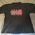 Vader - European Massacre 1998 Tour Shirt