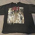 "Death - Human ""Extravaganza Of Europe"" 1992 Tour Shirt Blue Grape"