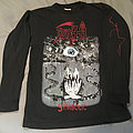Death - Symbolic OG Long Sleeve Blue Grape 1995 No Back Print