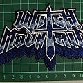 Witch Mountain logo patch