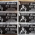 Cradle Of Filth - Other Collectable - original mock-up