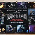 Cradle Of Filth - Other Collectable - calendar