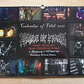 Cradle Of Filth - Other Collectable - calendar 2021