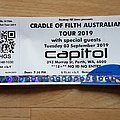 australian show ticket Other Collectable