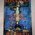 Sepultura - Other Collectable - tour programme
