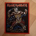 Iron Maiden - Patch - sit patch
