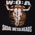 Wacken Open Air Shirt 2005 SKOAL METALHEADS