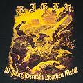 Riger - TShirt or Longsleeve - Riger Shirt 10 JAHRE German Heathen Metal