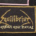 Equilibrium - Patch - Equilibrium Patch with stitchings