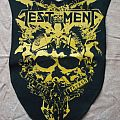 Testament DIY Backpatch Dark Roots Of Thrash