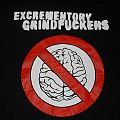 Excrementory Grindfuckers Shirt EXTREME MUSIC FOR EXTREME TROTTEL