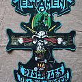 Testament DIY Backpatch Disciples Of The Watch
