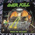 Overkill - Tape / Vinyl / CD / Recording etc - Overkill Vinyl UNDER THE INFLUENCE