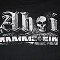 Rammstein - TShirt or Longsleeve - Rammstein Shirt REISE REISE
