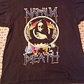 Napalm death us grind crusher tour 91 t shirt og