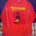 TERRORIZER World Downfall vintage long sleeve tshirt