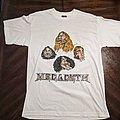 Megadeth - TShirt or Longsleeve - Megadeth 1998 Caricatures