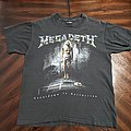 Megadeth - TShirt or Longsleeve - Megadeth 1992 CtE Cover Tour Dates
