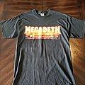 Megadeth - TShirt or Longsleeve - Megadeth 1999 Logo Tour Dates