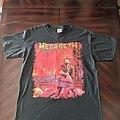 Megadeth - TShirt or Longsleeve - Megadeth 2001 PSbWB reprint