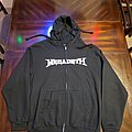Megadeth - Hooded Top - Megadeth 2016 Vic Zip Up