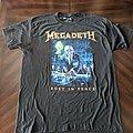 Megadeth - TShirt or Longsleeve - Megadeth 2020 RiP 30th Track List
