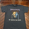 Megadeth - TShirt or Longsleeve - Megadeth 2020 The System has Failed Slim Fit