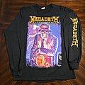 Megadeth - TShirt or Longsleeve - Megadeth 2010 RiP 20th Anniversary Hangar 18 LS