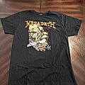 Megadeth 2016 Dove Reprint
