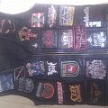 my battle jacket, leather, heavy, power, thrash, death, groove metal