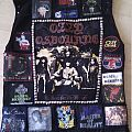 Tribute battle jacket to Ozzy and Black Sabbath