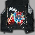 Handpainted denim vest - Judas Priest battle armour \m/ made by Oldschool Crew  Battle Jacket