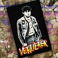 Handpainted  small patches - from the german oldschool movie called - Verlierer ( 1986)