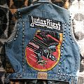 Handpainted Vest made by Oldschool Crew - Judas Priest  Battle Jacket