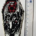 Small handpainted patch - Bathory made by Oldschool Crew